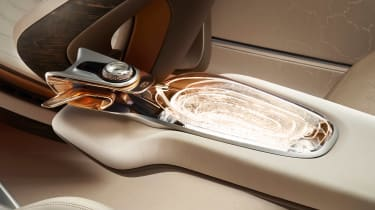 Bentley EXP 100 GT concept - interior detail