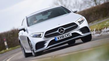 Mercedes CLS - front cornering