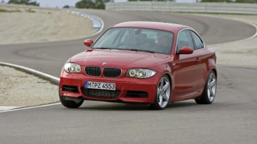 BMW 1-Series Coupe front