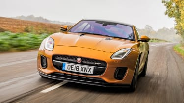 Jaguar F-Type P380 - front tracking