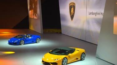 Lamborghini Huracan Spider takes its bow