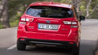 Subaru Impreza 2017 - rear