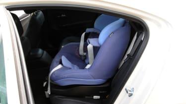 Vauxhall Ampera rear seats