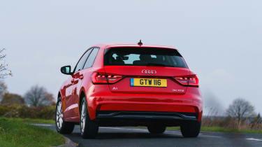 Audi A1 - rear cornering