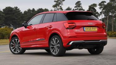 Audi SQ2 - rear stationary