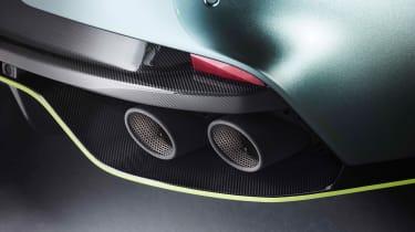 Aston Martin Rapide AMR - exhaust