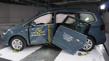 Volkswagen Sharan NCAP