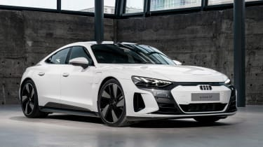 Audi e-tron GT - white front