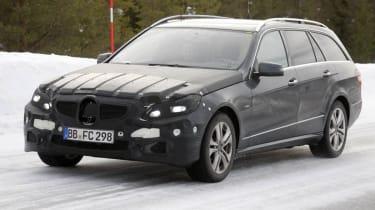 Mercedes E-Class facelift estate front