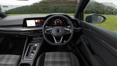 VW Golf GTD - interior