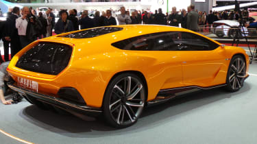 Italdesign concept Geneva - rear