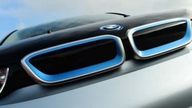 Long-term test review: BMW i3 REx grille