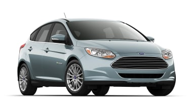 Ford Focus electric front view