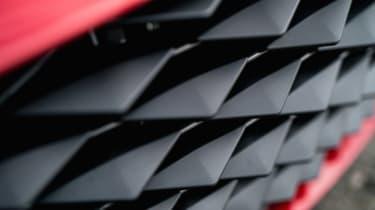 Aston Martin DBS GT Zagato - grill detail