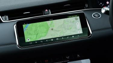 Range Rover Evoque - sat-nav