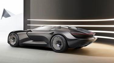Audi skysphere concept - studio rear roof