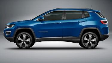 Jeep Compass 2017 - studio blue side