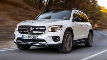 If there's a product niche somewhere, rest assured Mercedes will fill it. The GLB is a small SUV that comes as either a five- or seven-seater and a very handy 560-litres of boot space.