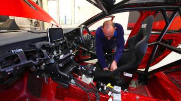 Kia Stinger GT420 - drivers seat