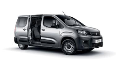 Peugeot Partner - front/side door open