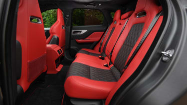 Jaguar F-Pace SVR - rear seats