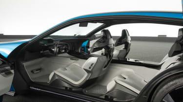 Peugeot Instinct concept - interior doors open