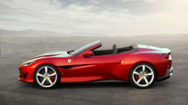 Ferrari Portofino - side