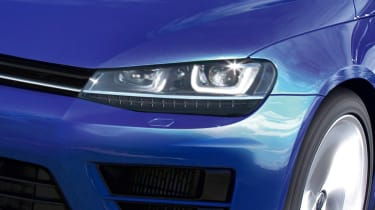 Volkswagen Scirocco facelift light
