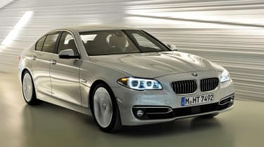 BMW 5 Series saloon facelift front