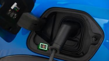 Peugeot e-208 - charging port