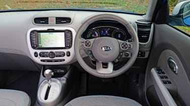 Used Kia Soul EV - dash