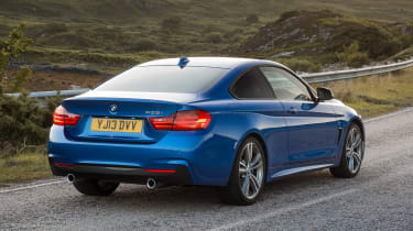 Used BMW 4 Series - rear action