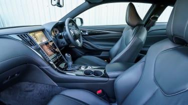 Infiniti Q60 - front seats