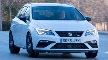 SEAT Leon ST Cupra 300 - front cornering