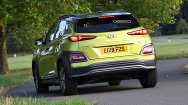 Hyundai Kona electric rear