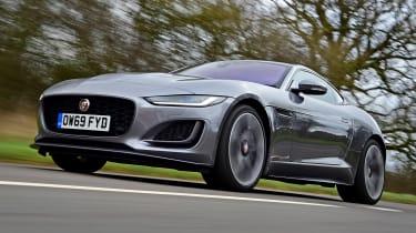 Jaguar F-Type - N/S tracking