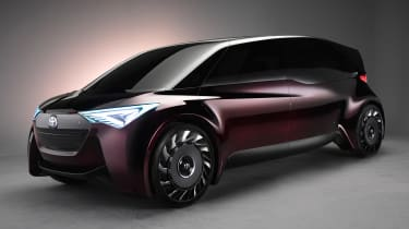 Toyota Fine-Comfort Ride concept - front