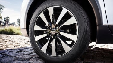 Nissan Kicks SUV - wheel