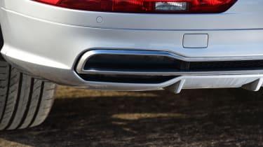 Audi Q5 - exhaust