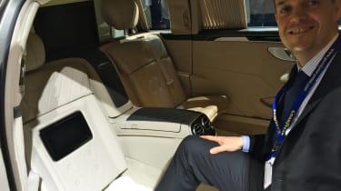 Mercedes Pullman show star interior