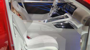 Mercedes-Maybach SUV interior front seats