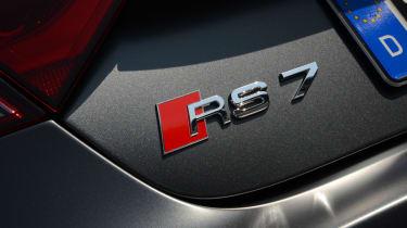 Audi RS7 Sportback badge