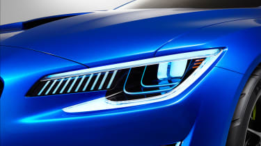 Subaru WRX STi concept detail