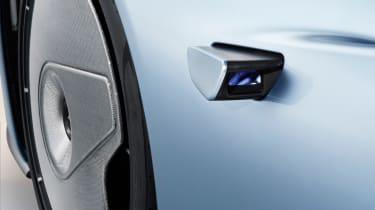 McLaren Speedtail - camera