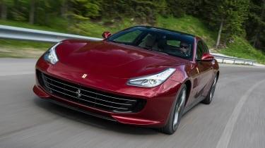 Ferrari GTC4 Lusso - front tracking