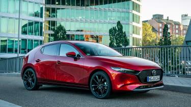 Mazda 3 SkyActiv-X - front static