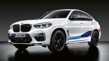 BMW X4 M with M Performance parts - front static