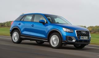 Audi Q2 - blue front