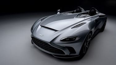 The Aston Martin V12 Speedster is one of the brand's most exclusive models with just 88 being produced. Powered by a 690bhp 5.2-litre V12 engine, the roadster can hit 0-62mph in just 3.5 seconds which could led to some very windswept hairstyles.