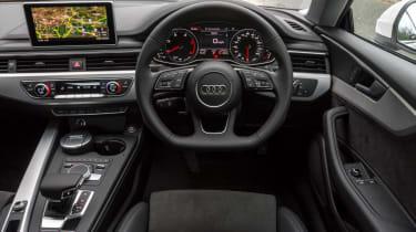 Audi A5 Coupe - dash